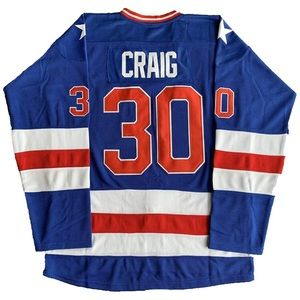 New USA Team Hockey Jim Craig Jersey NWT